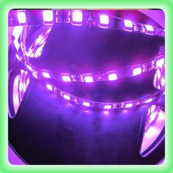 Bright Purple 5M 300 LED 5050 SMD Light Lamp Strip Waterproof Flexible