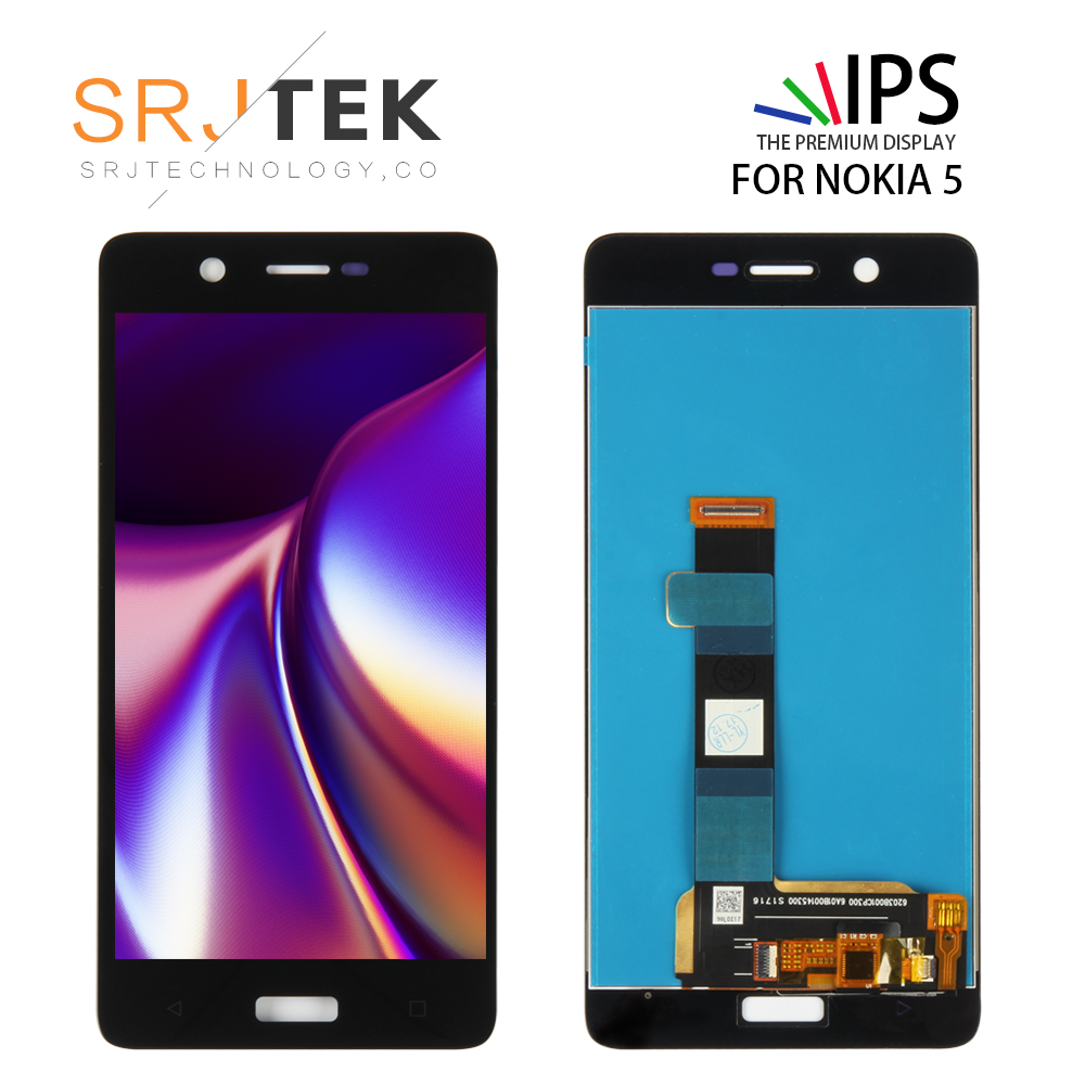 Srjtek Tested For <font><b>Nokia</b></font> <font><b>5</b></font> N5 TA-1008 TA-1030 TA-<font><b>1053</b></font> Lcd Display With Touch <font><b>Screen</b></font> Digitizer Assembly Replacement Parts image