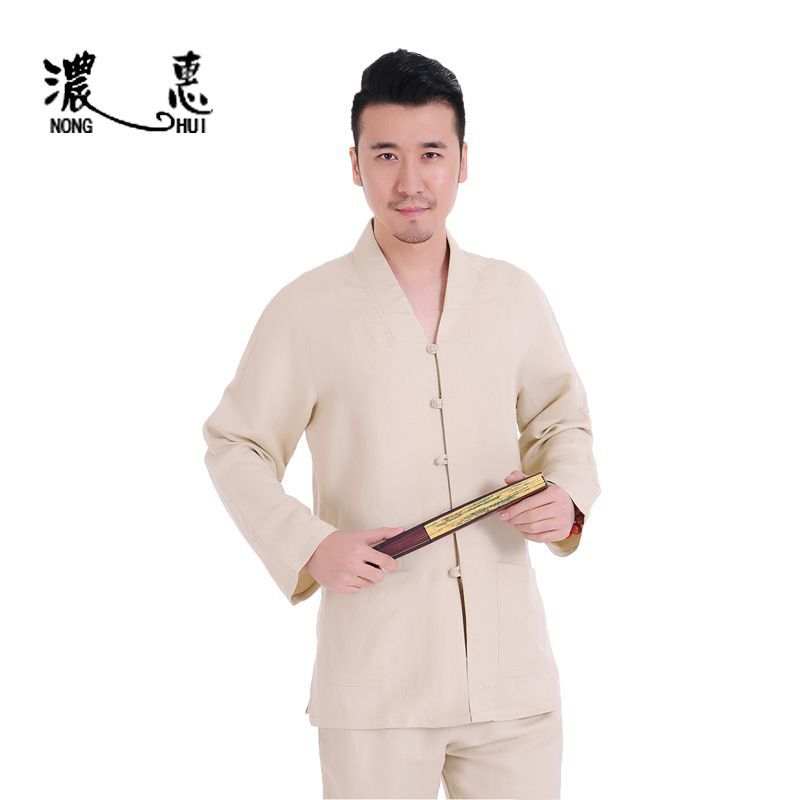 Cotton Zen Buddhist Monk Buddhism Meditation Martial Arts Clothing Sets Conjuntos De Artes Marciales