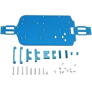 Image 4 - 1 مجموعة عالية السرعة سيارة هيكل معدني ترقية الهيكل المعدني ل Wltoys 1/18 A949 A959 B A969 A979 K929 RC سيارة