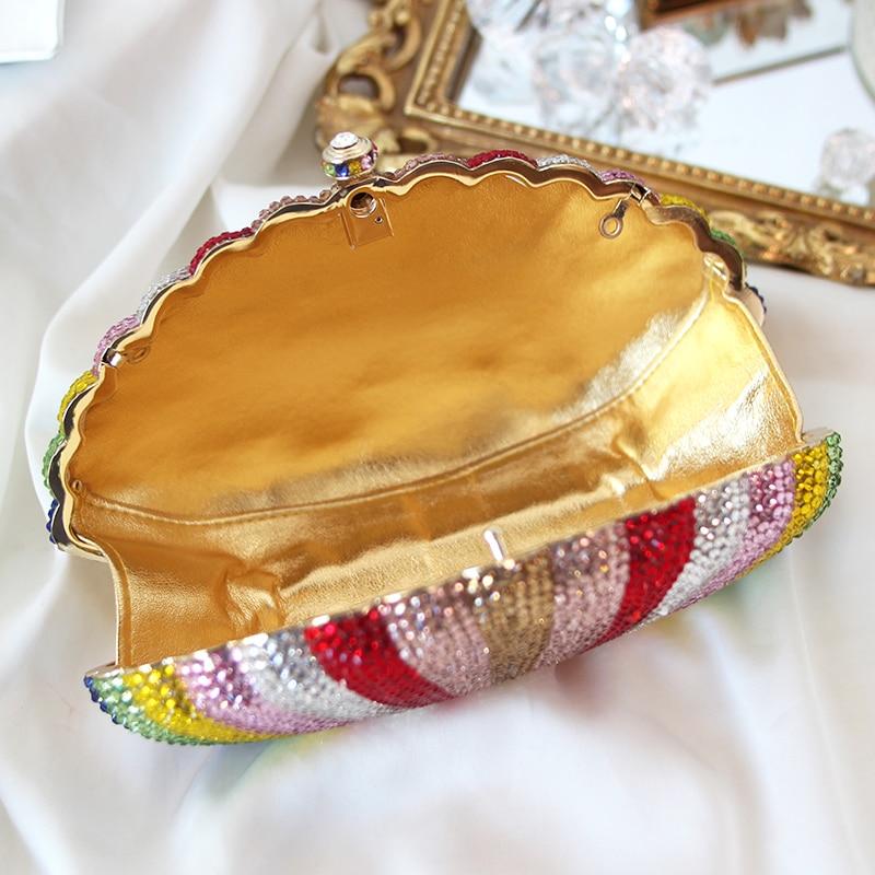 Luxe Belle Shell Sac Partie Journée Main Embrayages Sacs À Date Noël Scintillant Femmes De Dîner Petit Soirée qxxf6CS5