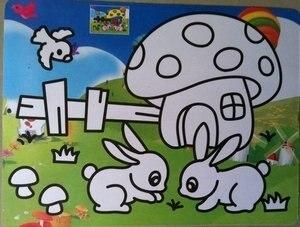 На по выгодной цене! Раскраска на основе песчаной Живописи Набор любовь для детей Подарки