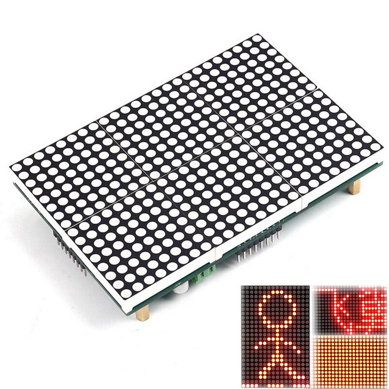 LED Display Lattice Module 16x24 Dot Led Matrix LED Matrix Module SubtitleText Display Driving Program Testo Pantalla LED