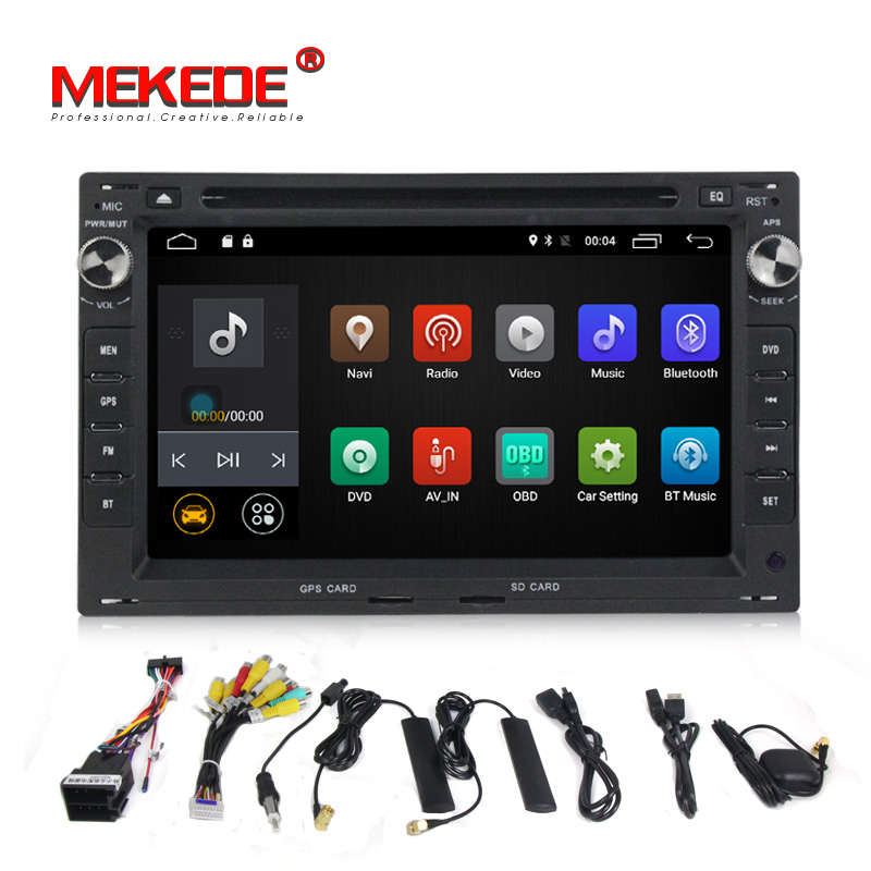Quad Core 4G Android 7 1 font b Car b font dvd player for Volkswagen VW