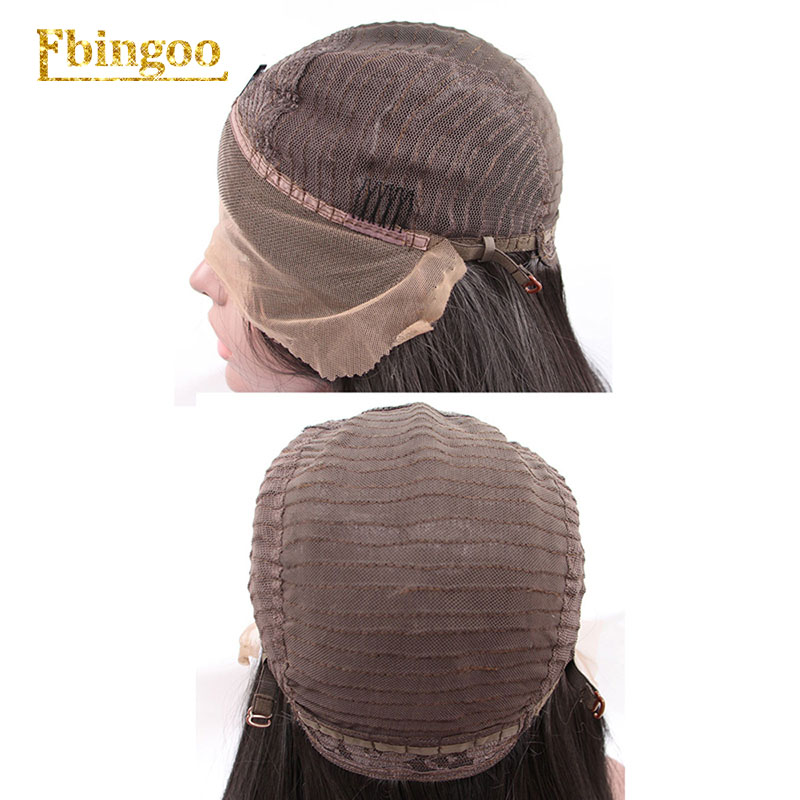 Ebingoo Hair Cap+Dark Roots Ombre Burgundy Long Body Wave Wavy Synthetic Lace Front Wig for Women with Middle Part-in Synthetic Lace Wigs from Hair Extensions & Wigs    3