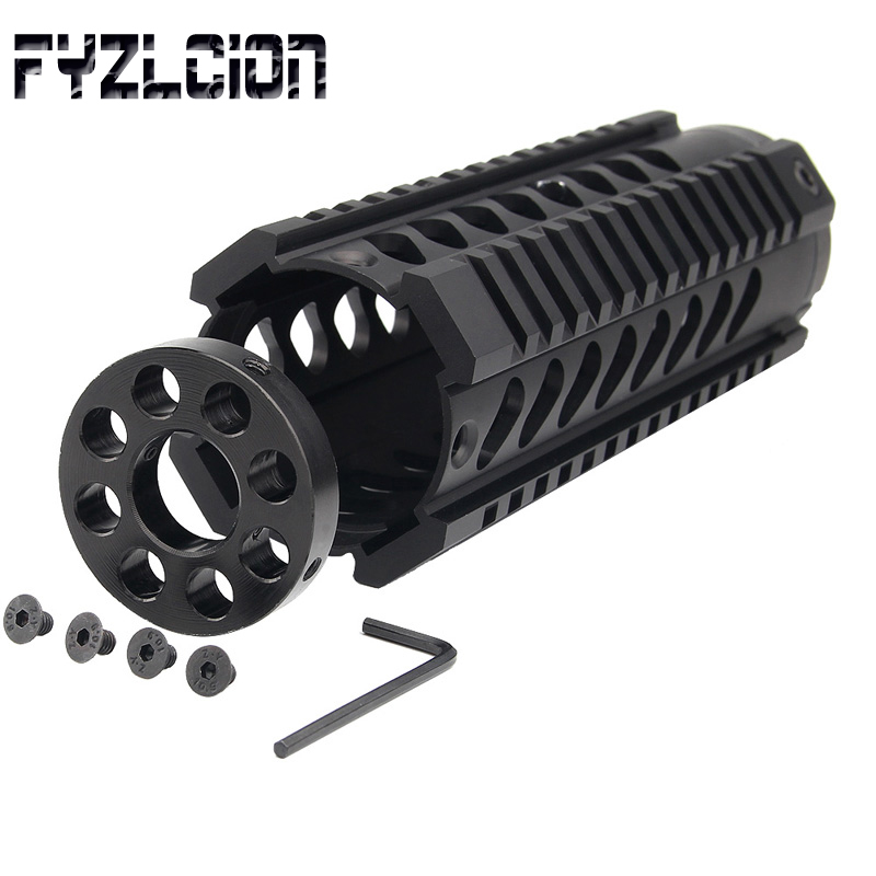 Image 5 - Tactical Front End Cover Hunting Barrel 0.223 15 Free Float Four Rail Handguard-in Hunting Gun Accessories from Sports & Entertainment