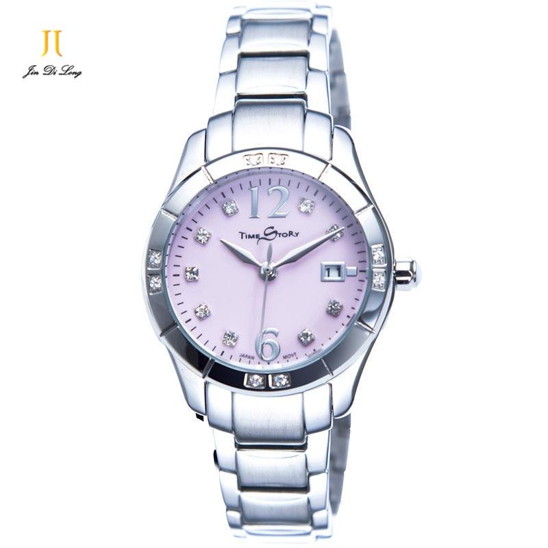 Brand Luxury Fashion Dazzle Diamond Women s Watch Ladies Quartz Business Casual Wristwatch Stainless Steel Calendar