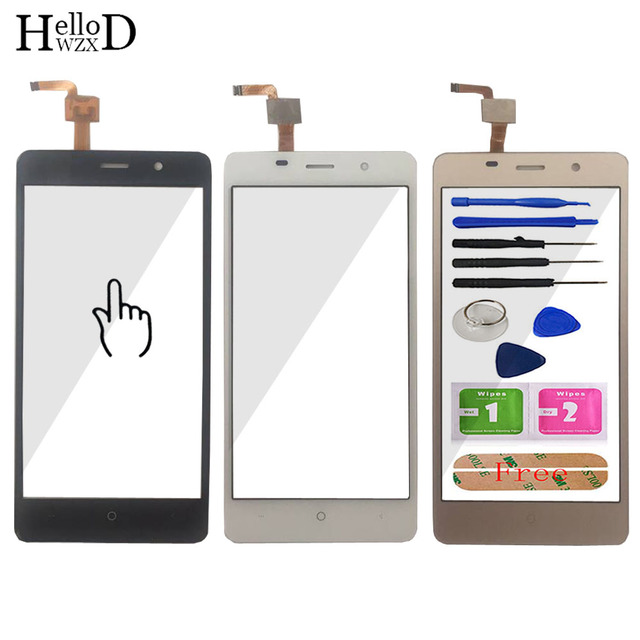 5.0 Touch Panel For Leagoo M5 Touch Screen Digitizer Panel Repair Parts Touchscreen Front Glass Lens Sensor Free Adhesive Gift