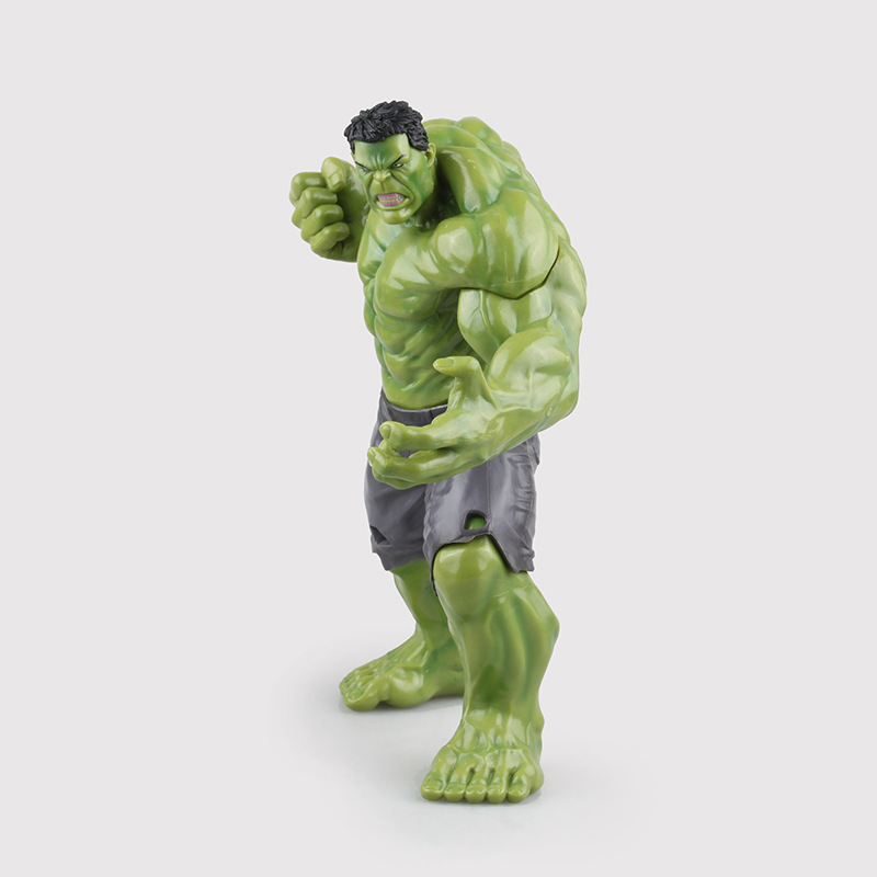 New PVC 10'' Big Marvel Avengers Hulk Action Figure Collectable Model Muscle Man Superman Crazy Toy Top Grade Gift KB0356 avengers hulk pvc action figure model toy anime hot movie hulk activity collection display juguetes creative birthday gift