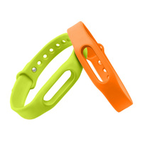 Original Xiaomi Miband 1&1S &Xiaomi mi band Wristband Silicon Strap For Smart Bracelet Accessories Replaceable Smart Band Belt