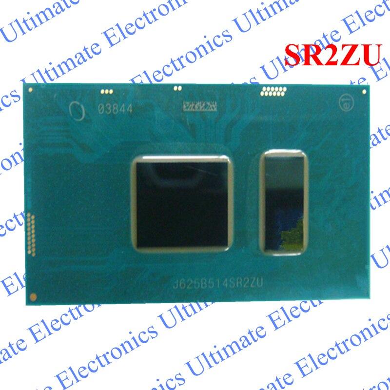 ELECYINGFO Rénové SR2ZU I5-7200U SR2ZU I5 7200U BGA puce testé 100% travail et bonne qualité