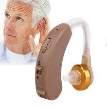 APARELHO auditivo Регулируемый слуховой аппарат невидимым звук голоса Усилители домашние Объем Тон уха прослушивания помощь Батарея
