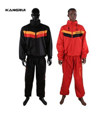 цены на Keep thin KANGRUI Waterproof airproof Sweat coat sauna suit men women running sport fitness uniform reduce weight clothes