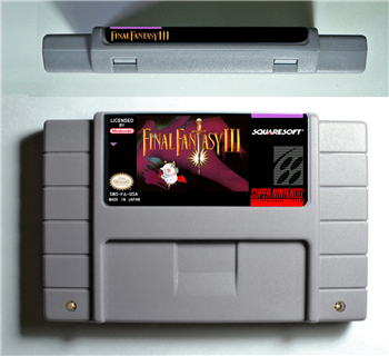 Final Fantasy III 3-RPG Spiel Batterie Sparen US Version