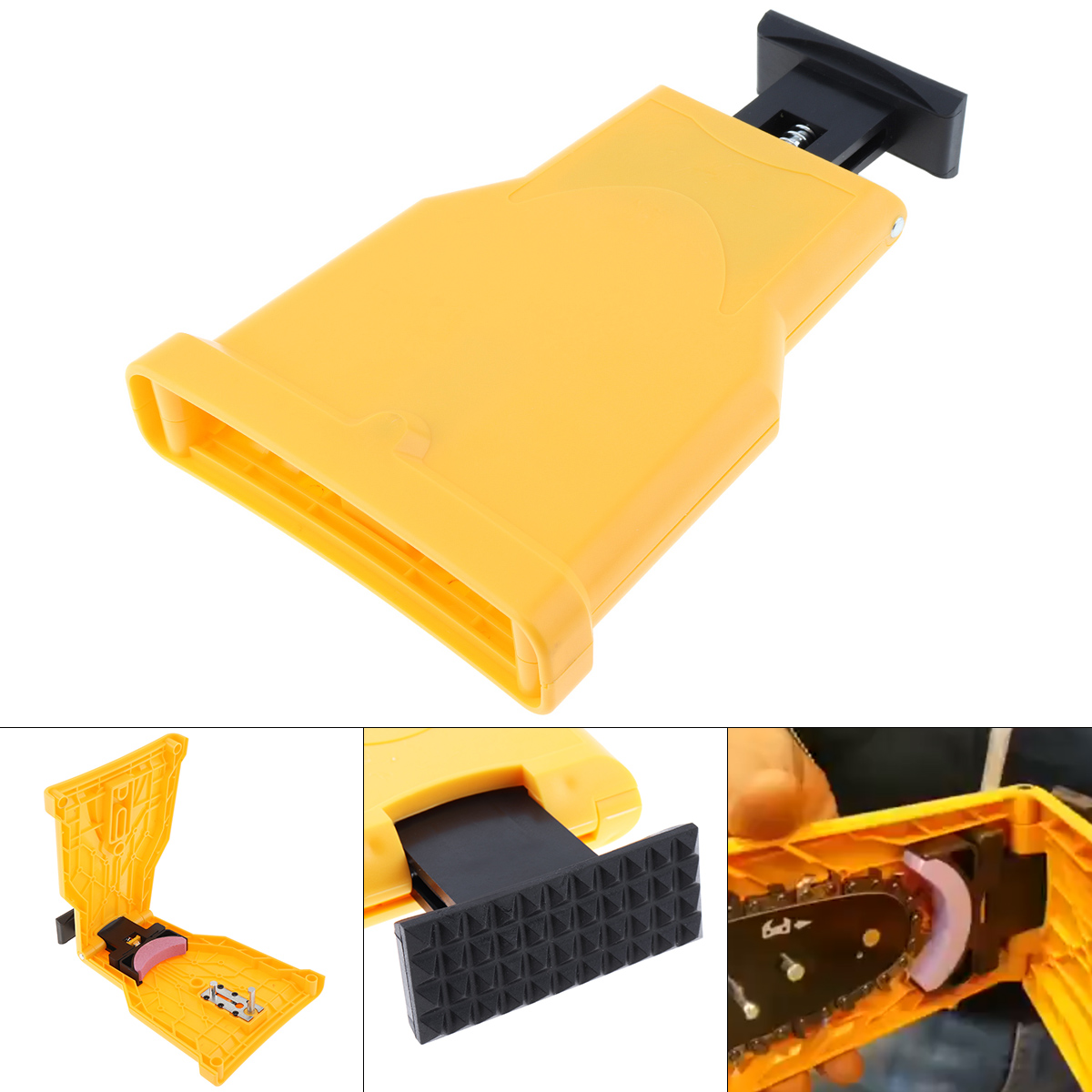 Chainsaw Teeth Knife Sharpener Knife Stone Grinder Chain Grinder Fast Chain Grinding  System Abrasive Tool For Woodworking