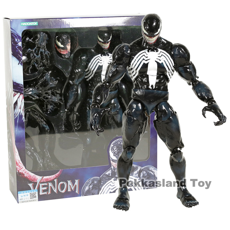 Hot Toys Marvel Venom 1/6 Scale PVC Action Figure Collectible Model Toy