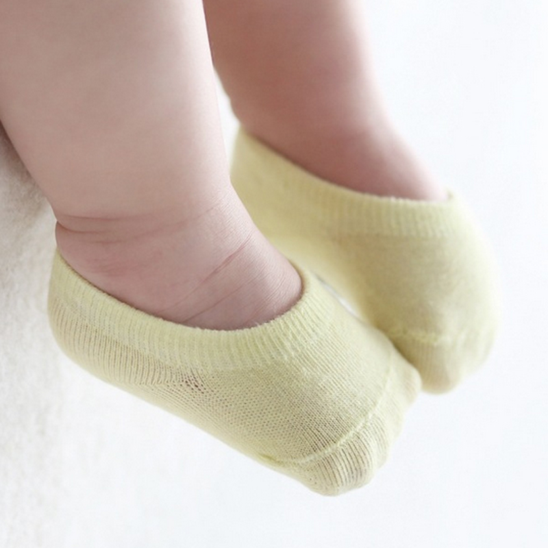 5pairs/lot High Quality Korean Children's Invisible Boat Socks Baby Non Slip Socks Cotton Sock for Girl and Boy 1
