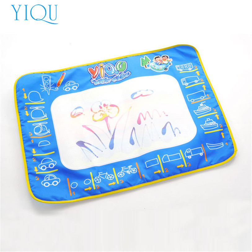 YIQU Water Drawing Painting Writing Mat Board+Magic Pen Doodle Toy 50*70CM AUG 26