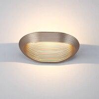 Nordic личность светодио дный LED Настенные светильники простой прикроватной тумбочке спальня гостиная лампа зеркало фар ванная комната огни