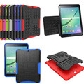 "HH Heavy Duty Armor Tire Style Hybrid TPU PC Hard Cover Case for Samsung GALAXY Tab S2 9.7"" SM T810 T815 T813 T819 tablet PC"