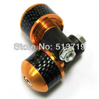 Free Shipping 7 8 22MM Universal Motorcycle Bronze Aluminum Handlebar Grips Bar Ends Slider One Pair