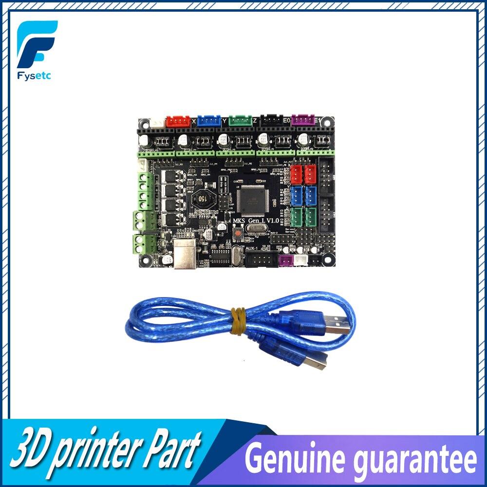 Gen-L V1.0 Intégré Carte Mère Gen L v1.0 Compatible Ramps1.4/Mega2560 R3 Pour TEVO Tarentule et Tornado 3D imprimante