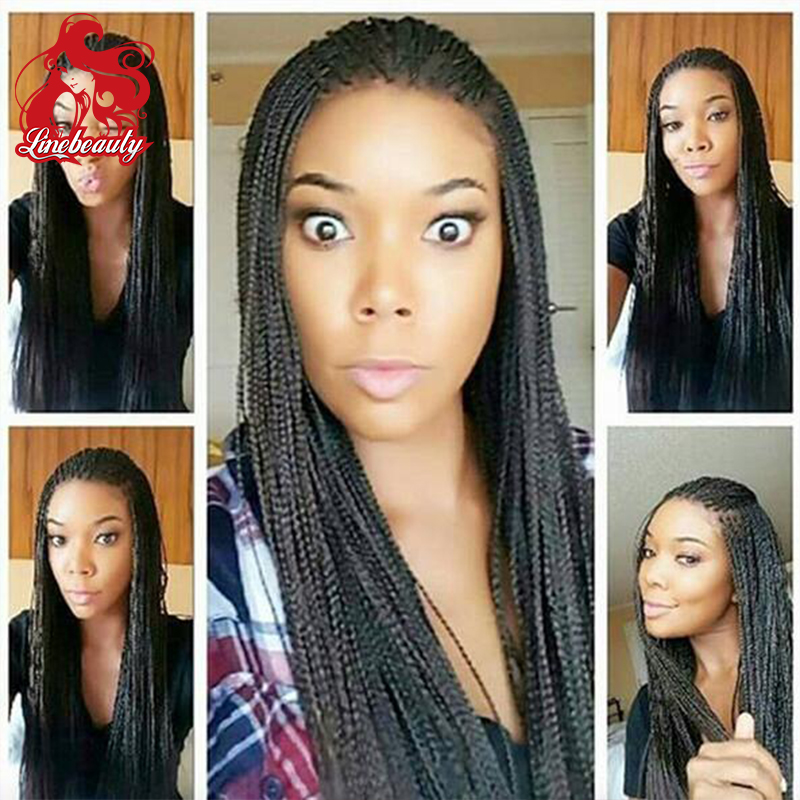 Lace Front Wig Single Synthetic Braiding Hair Synthetic