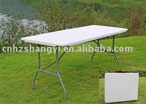 SY 183Z 72u0027u0027* 30u0027u0027 Blow Molded Plastic Rectangle Folding Table, Banquet  Table, Outdoor Table