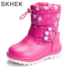 Children s Boots For Girls more than Boys wool styles waterproof boot sport shoes fur lining kids sell at