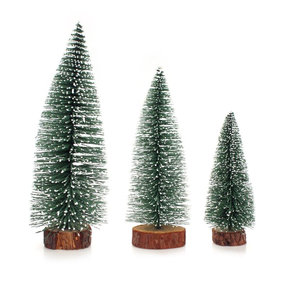 Christmas Tree Needles: Mini Christmas Tree Pine Needles Flocking Desktop Snow