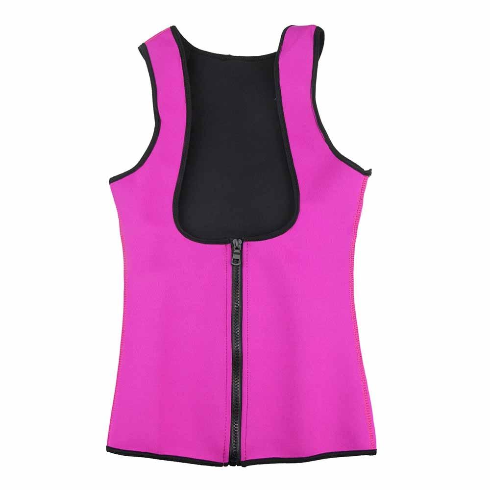Blue slimming redu thermo cami hot slim belt Neoprene shaper Vest Sweat CJ DropShipping