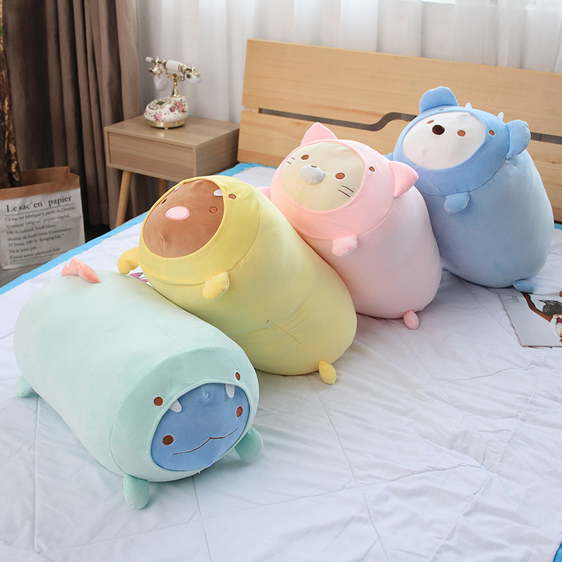 1pc 20cm Kawaii Japanese Animation Sumikko Gurashi Plush Toys Stuffed  Corner Bio Cartoon Doll For Kids Christmas Gifts