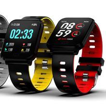 GIAUSA Big Color Screen Smart Bracelet Waterproof Sports Pedometer Watch Fitness Tracker Running Walking  Heart Rate