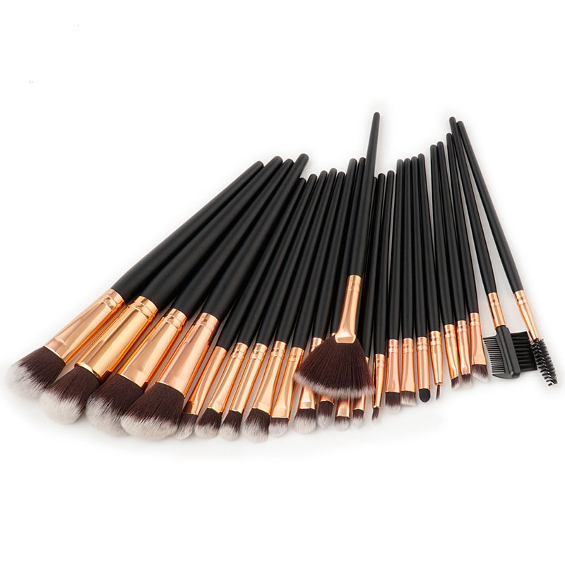 New Pro 24Pcs Cosmetic Makeup Brushes Set Bulsh Powder Foundation Eyeshadow Eyeliner Lip Make up Brush Beauty Tools Maquiagem 15pcs 1set high quality brushes makeup cosmetic pro set powder foundation eyeshadow lip brush beauty girl dropshopping 10 12