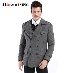 Holyrising Coat Men Casual Woo