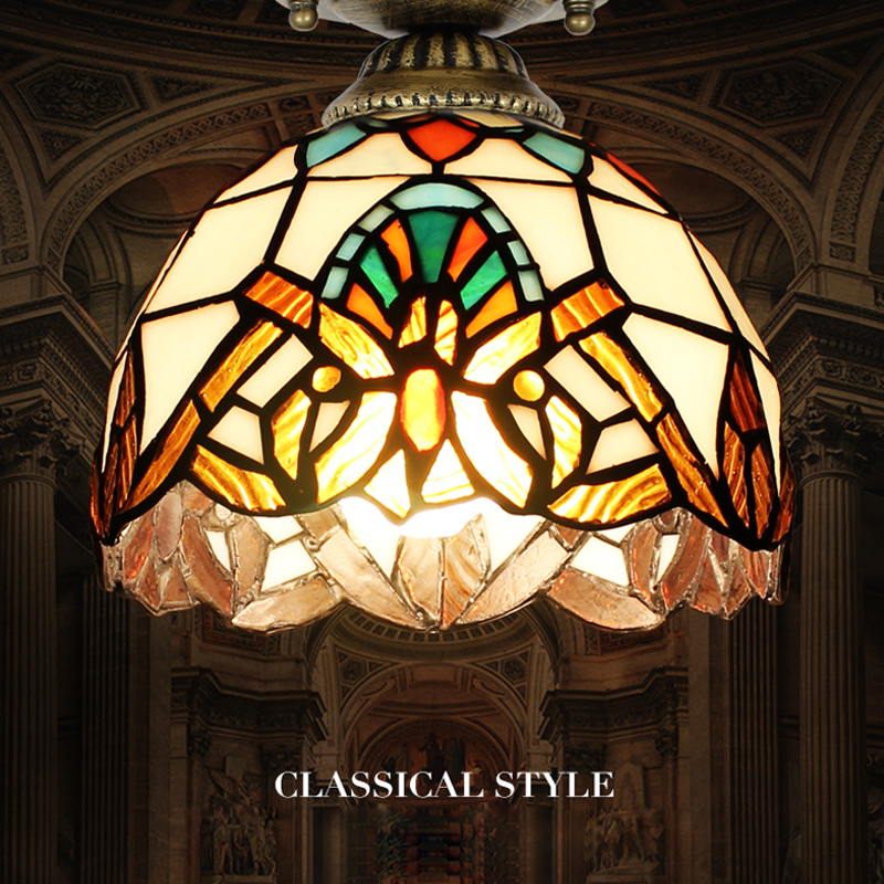 Tiffany Stained Glass Pendant Ceiling Lamps