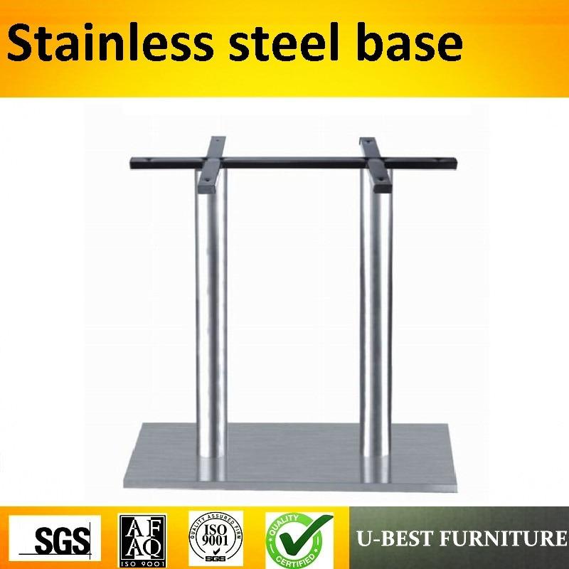 U-BEST High Quality Pedestal Table Base Leg Metal Square Tube Table Leg,coffee Table Leg