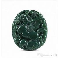 Selling Jewelry>>>Xinjiang Hetian jadeite horse pendant male and female models to success Pegasus round pendant
