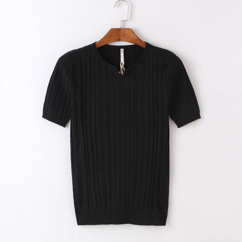 Жира с короткими рукавами футболка Мужская trend Лето Хлопок Большие размеры мужские свободные половины рукавами одежда