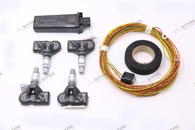 TMPS 2 TPMS Tire Pressure System USE FOR Audi A4 B9 A5 B9 Q5 Q7 4M A3 8V NEW TT 8S0 907 273 4M0 907 273 B
