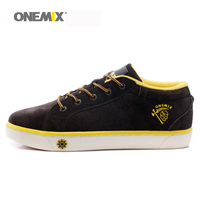 ONEMIX Brand Men S Skateboarding Shoes Lace Up Sneakers For Men With Low Upper Flat