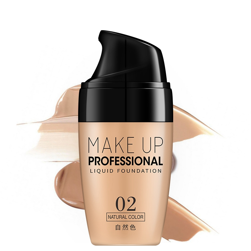 Lasting Face Makeup Base Liquid Foundation Concealer Whitening Primer Easy to Wear Soft Carrying Waterproof BB Cream image