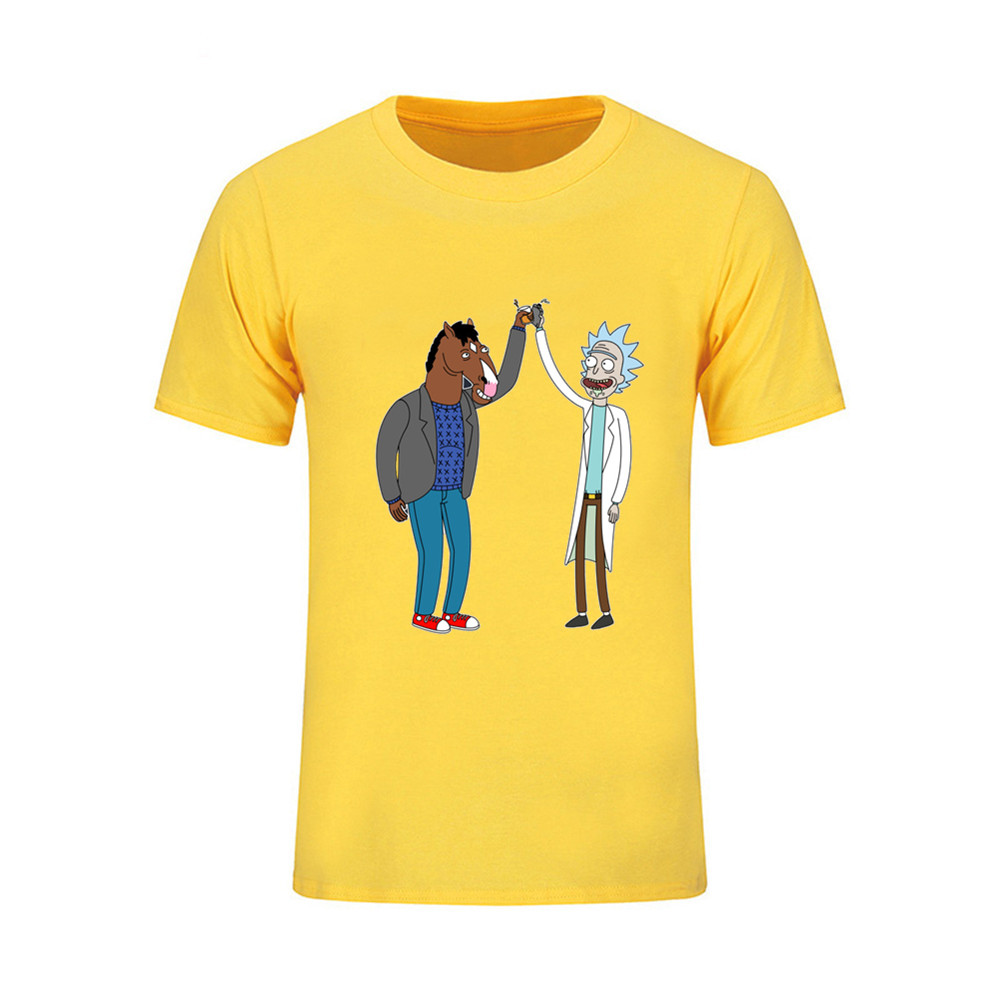 Japan style Mens 3d T Shirt Short Sleeve rick and morty Musical game Note T-shirt Design Acoustic Guitars Male TShirt Camisetas