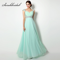 Cheap Beading Sequined Mother Of The Bride Dresses Chiffon Sweetheart Lace Up Back Women Dress Long