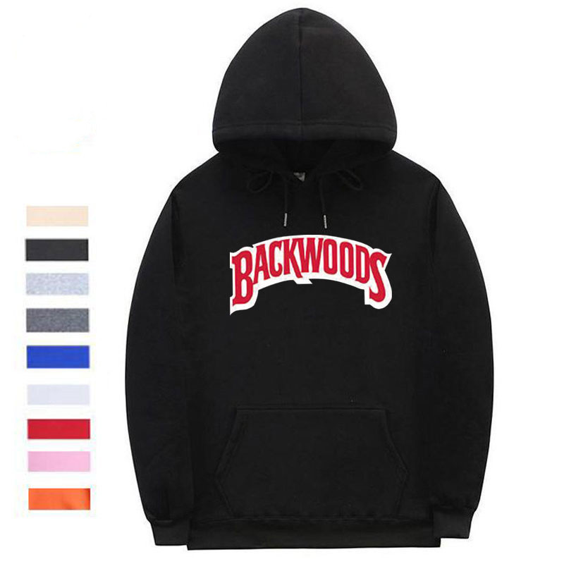 The screw thread cuff Backwoods Hoodie