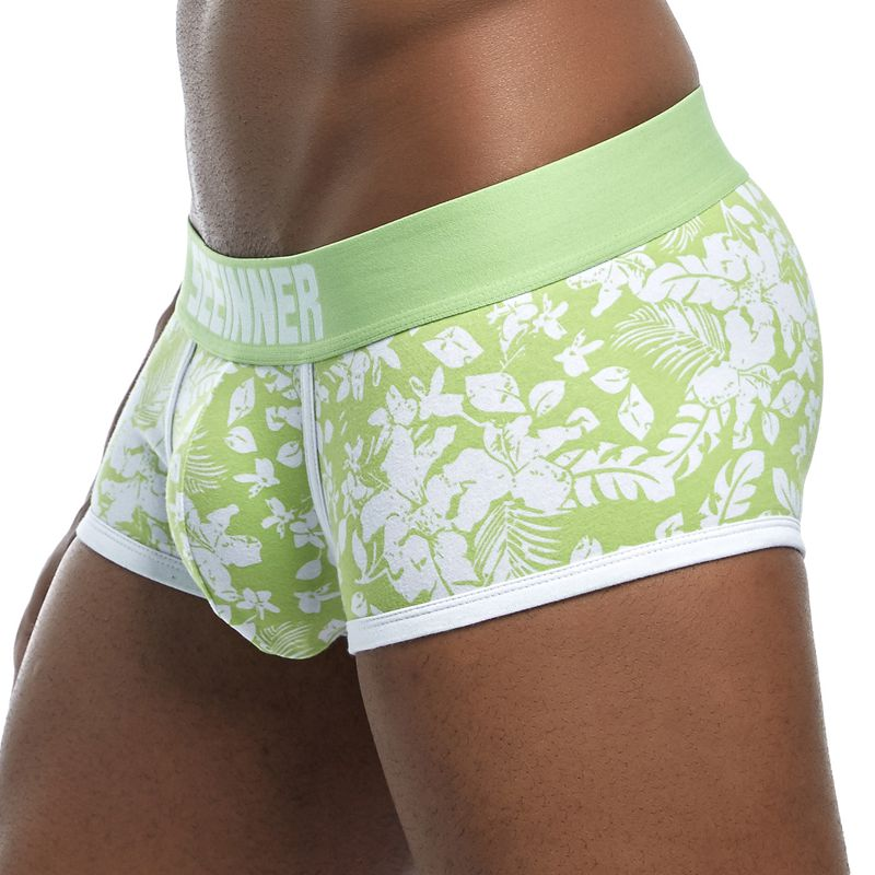 2018-New-Brand-Male-Panties-Breathable-Boxers-Cotton-Men-Underwear-U-convex-pouch-Sexy-Underpants-Printed