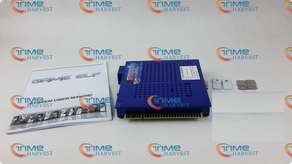 New Arrival Classical games GAME ELF 1162 IN 1 Board for CGA monitor LCD VGA horizontal