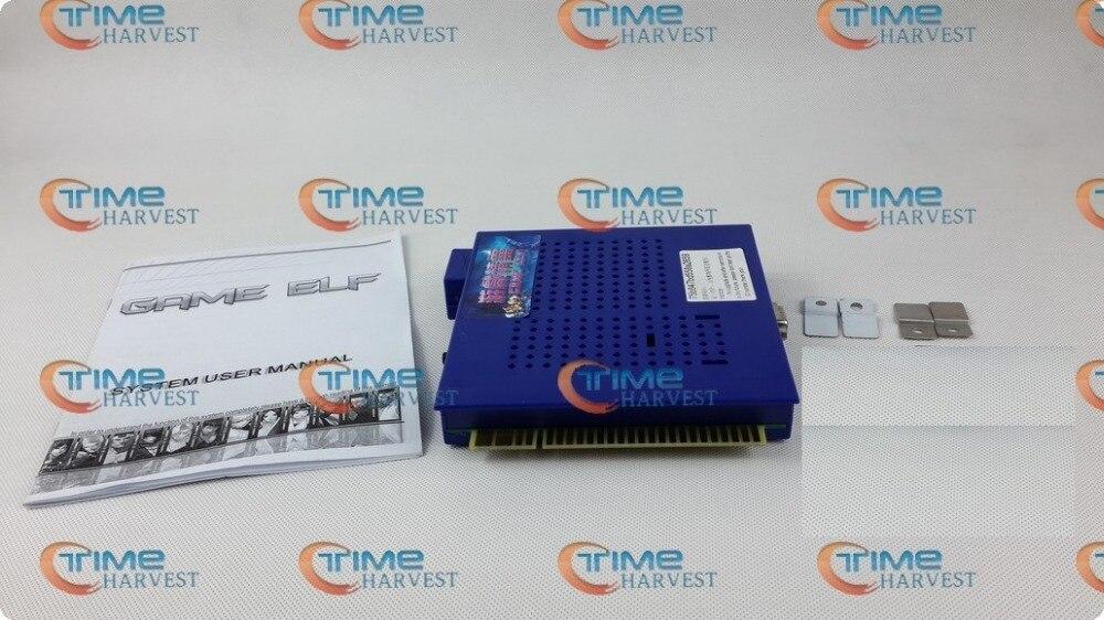 Nouveauté jeux classiques jeu ELF 1162 en 1 plateau pour moniteur CGA LCD VGA horizontal ou cocktail jeu arcade armoire machine