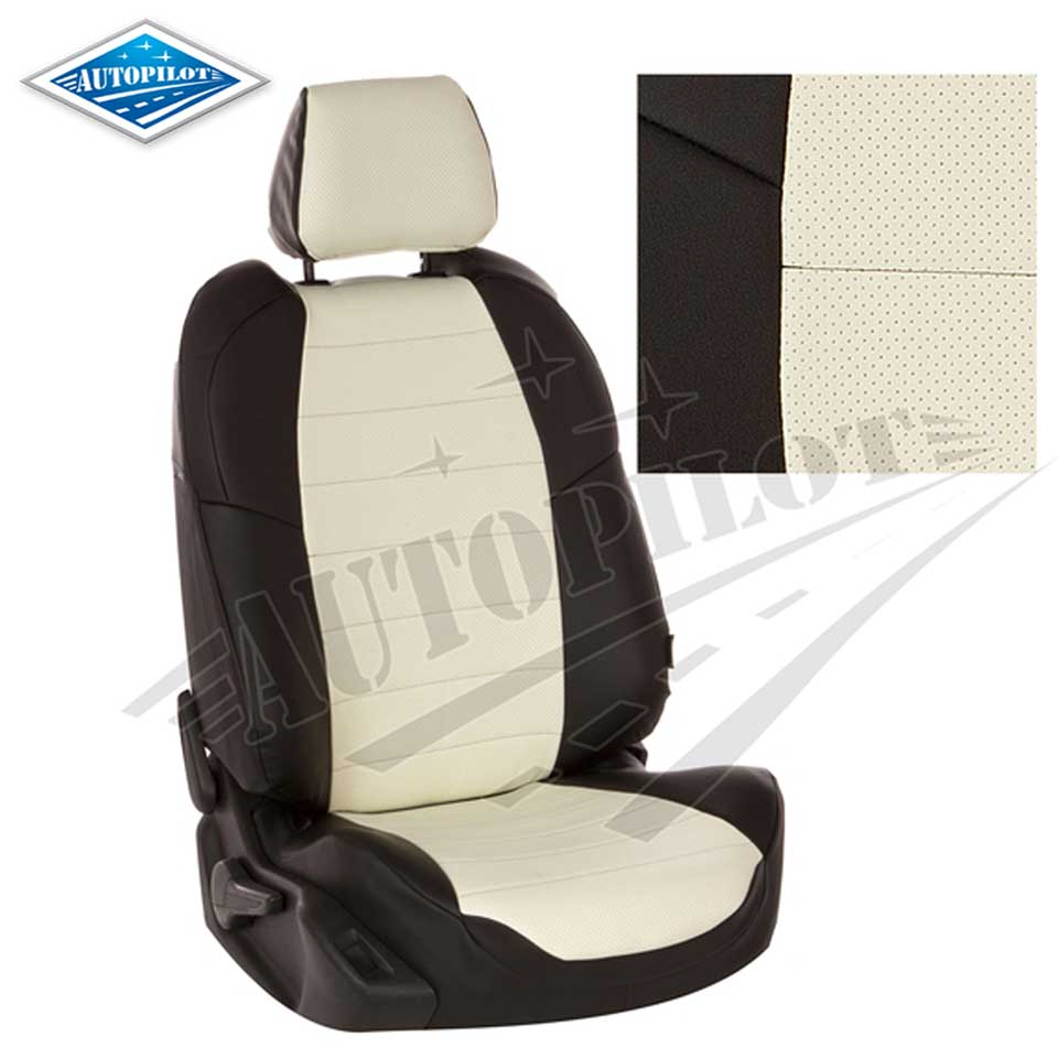 For Nissan Almera G15 2013-2019 special seat covers with separate back seats full set Autopilot Eco-leather