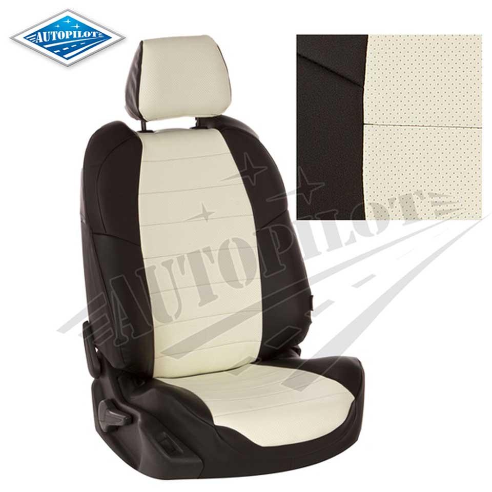 Para Nissan Almera G15 2013-2019 fundas de asiento separada, con asientos de atrás conjunto completo piloto automático Eco-cuero